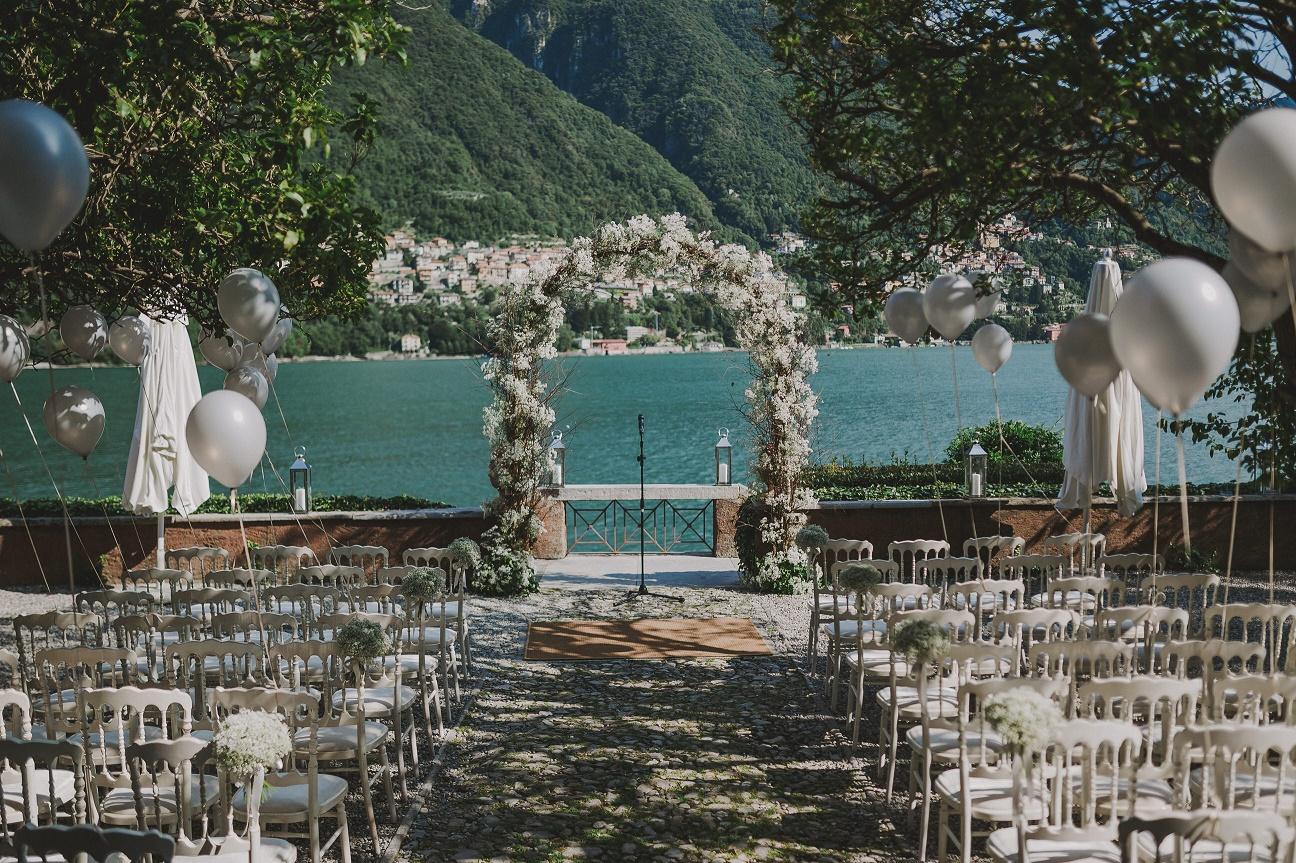Como Lake Wedding