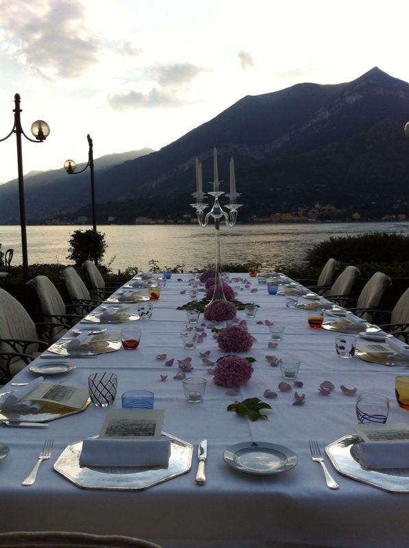 Luxury hotel lake como weddings and events for Hotel michelin