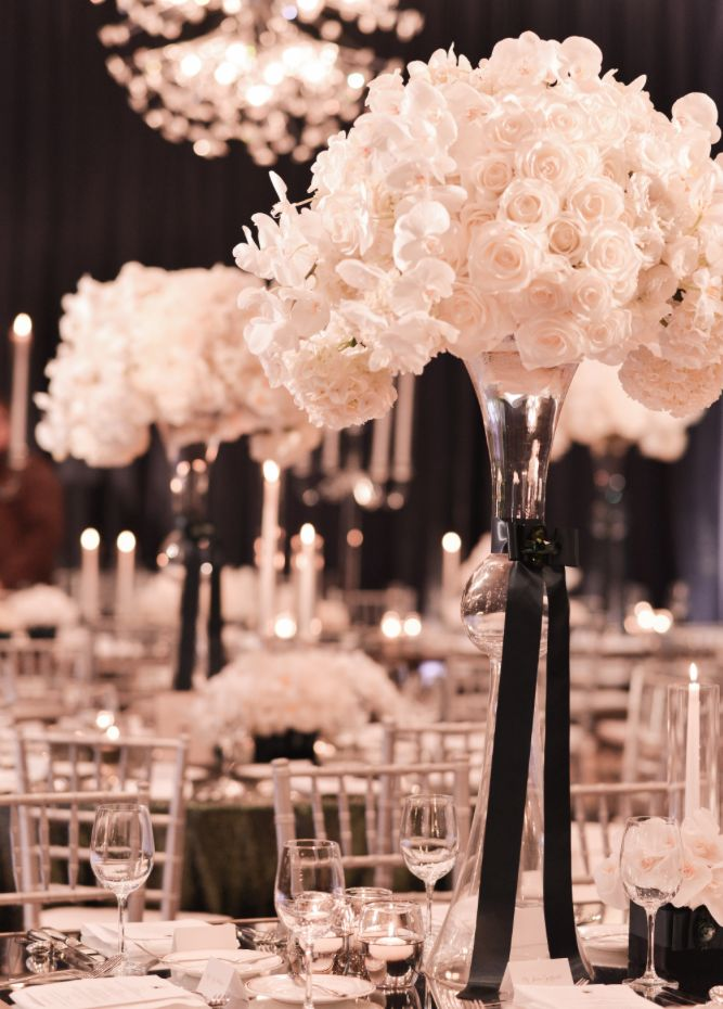 Awesome Black And White Wedding Colors Gallery - Styles & Ideas ...